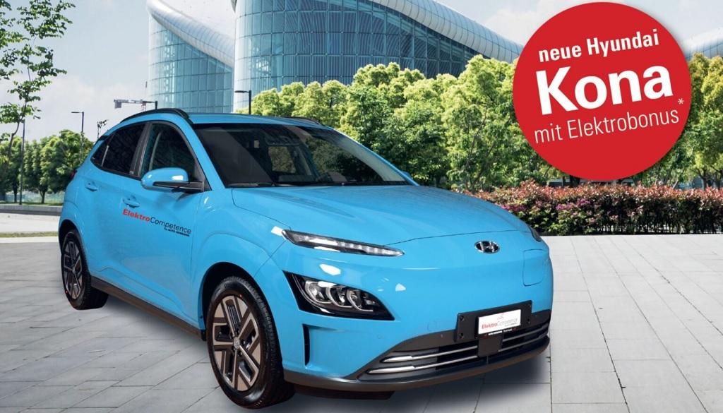 New Hyundai KONA Electric - Facelift 2021 - ah Auto Hermann AG - Ebnat-Kappel 1
