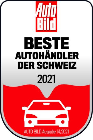 Auszeichnung Auto Bild Beste Autohändler der Schweiz 2021 - ah Auto Hermann AG - Ebnat-Kappel